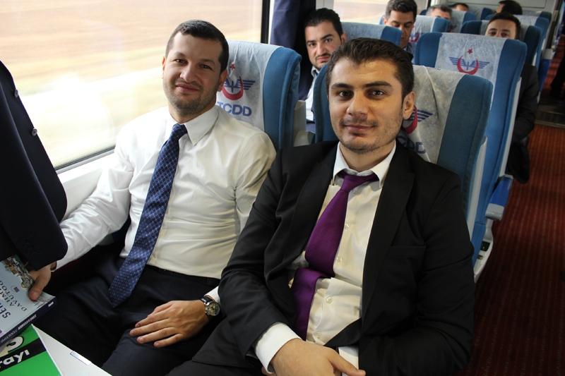 Konyalılar Ankara'ya hızlı trenle gitti 65