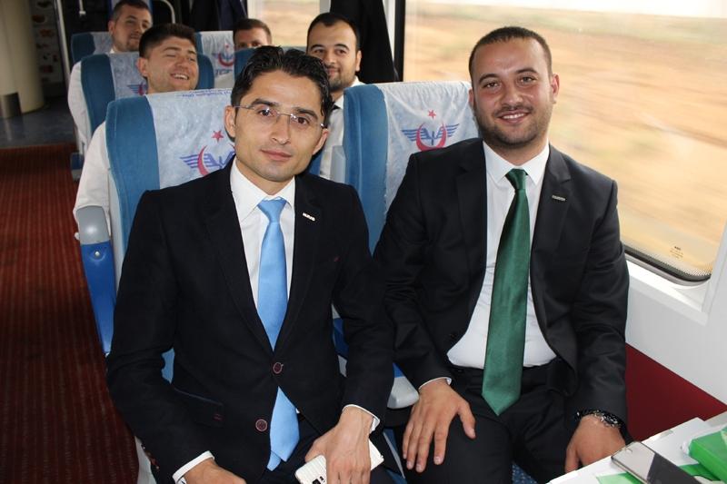 Konyalılar Ankara'ya hızlı trenle gitti 66
