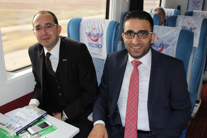 Konyalılar Ankara'ya hızlı trenle gitti 67
