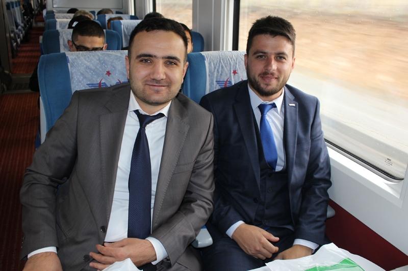 Konyalılar Ankara'ya hızlı trenle gitti 68