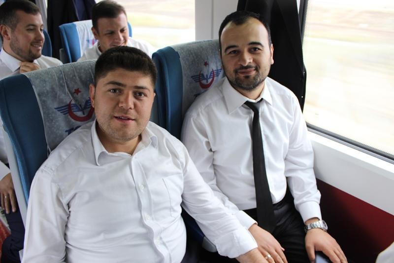 Konyalılar Ankara'ya hızlı trenle gitti 69