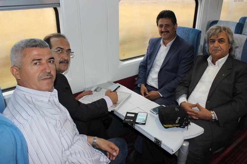 Konyalılar Ankara'ya hızlı trenle gitti 7