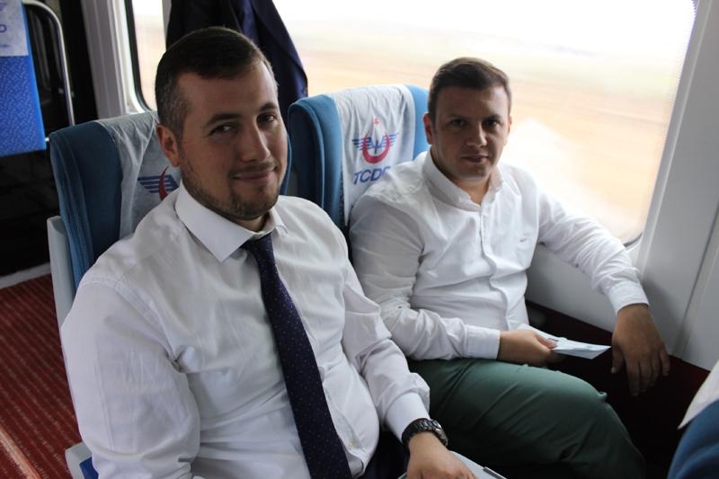 Konyalılar Ankara'ya hızlı trenle gitti 70
