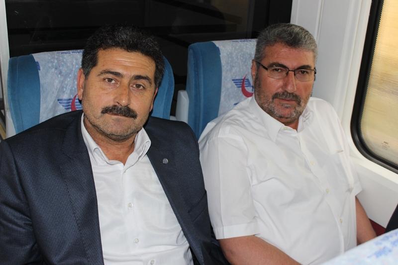 Konyalılar Ankara'ya hızlı trenle gitti 8