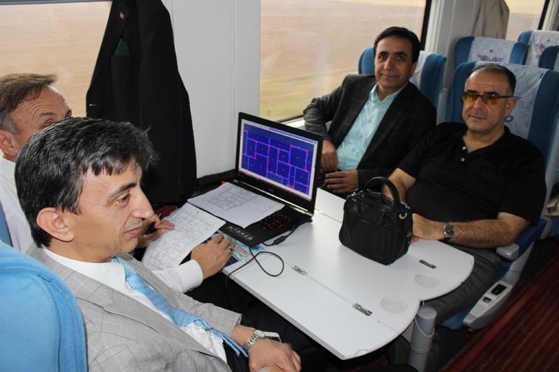 Konyalılar Ankara'ya hızlı trenle gitti 9
