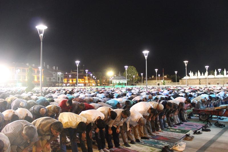 Kadir Gecesi Konya'da bir başka güzel 12