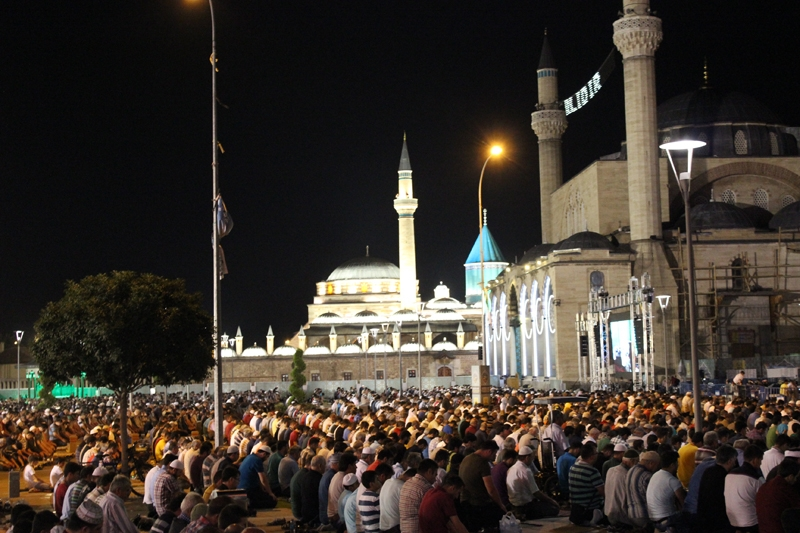 Kadir Gecesi Konya'da bir başka güzel 15