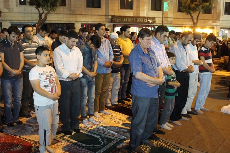 Kadir Gecesi Konya'da bir başka güzel 16
