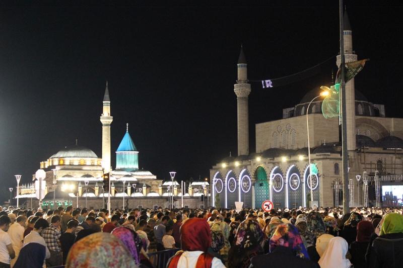 Kadir Gecesi Konya'da bir başka güzel 18