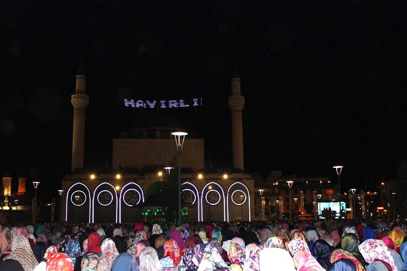 Kadir Gecesi Konya'da bir başka güzel 2