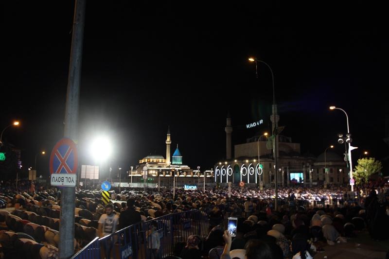 Kadir Gecesi Konya'da bir başka güzel 20