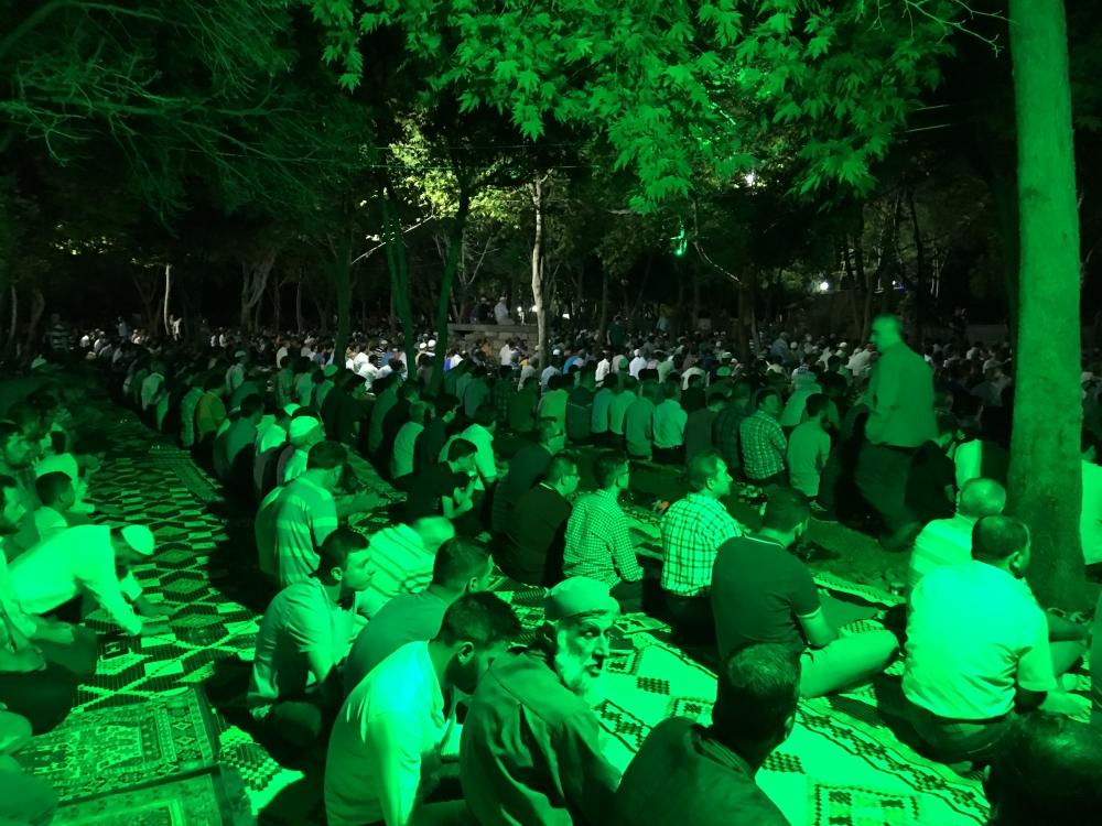 Kadir Gecesi Konya'da bir başka güzel 30