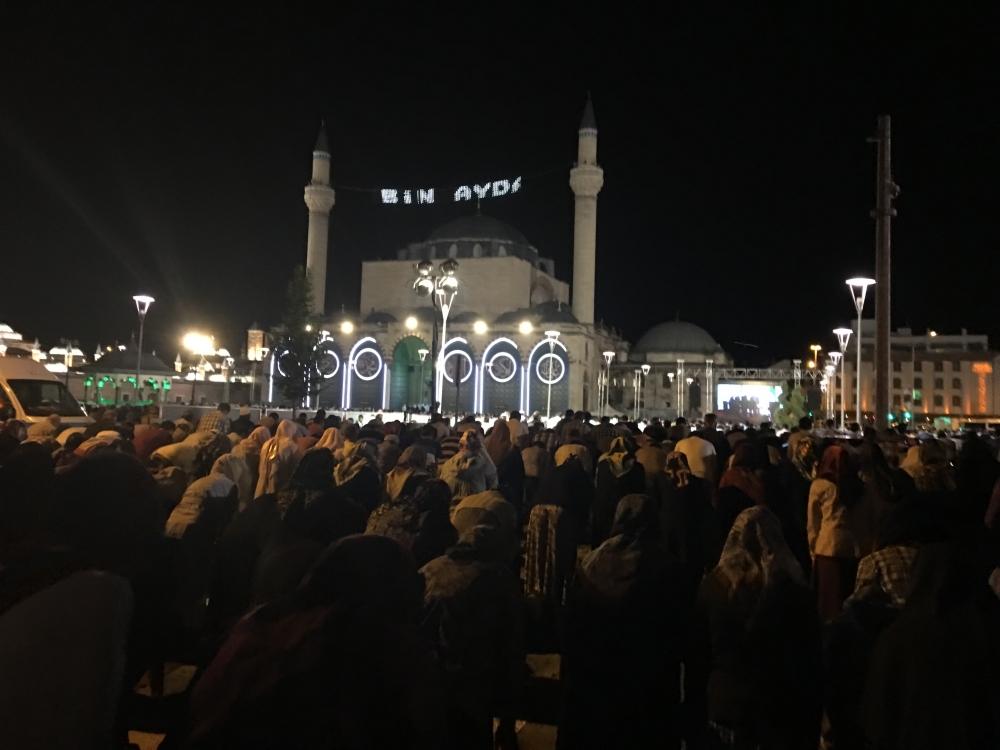 Kadir Gecesi Konya'da bir başka güzel 32