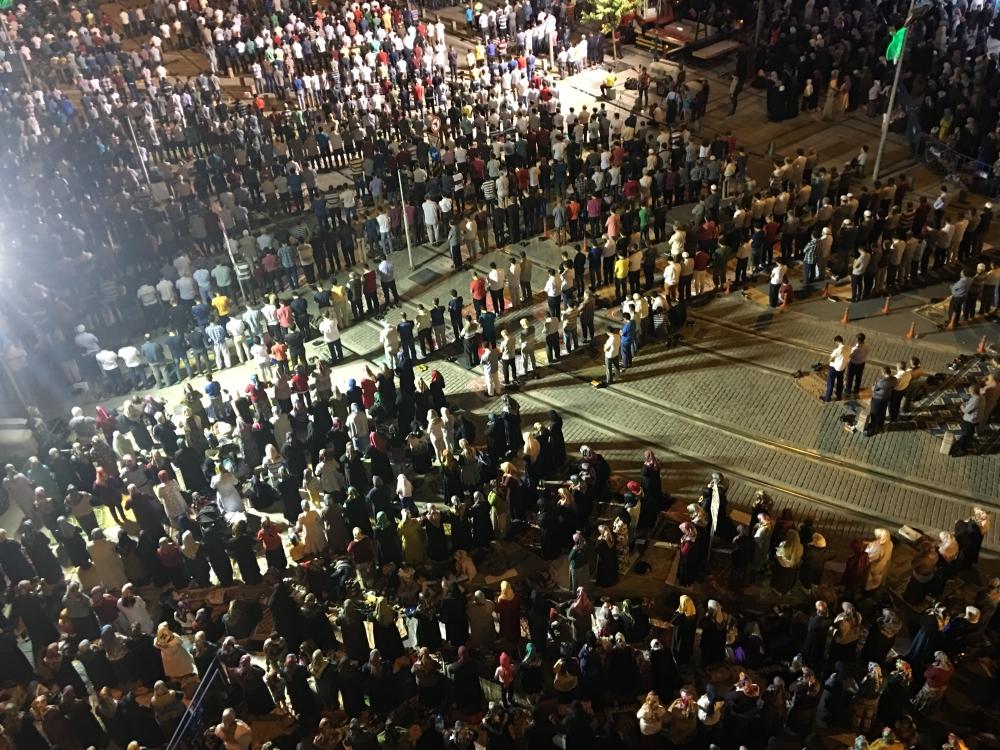 Kadir Gecesi Konya'da bir başka güzel 34