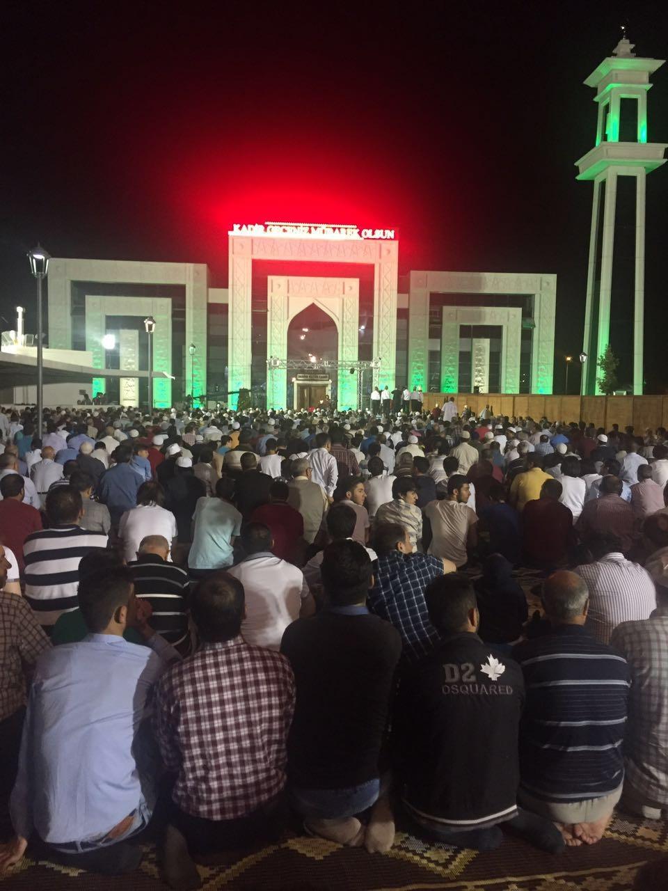 Kadir Gecesi Konya'da bir başka güzel 38