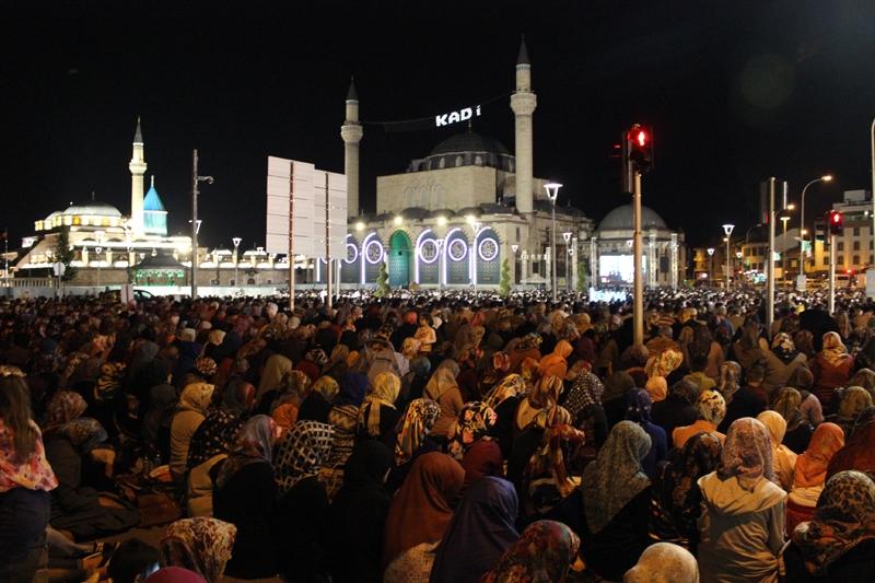 Kadir Gecesi Konya'da bir başka güzel 4