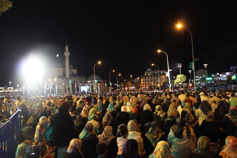 Kadir Gecesi Konya'da bir başka güzel 5