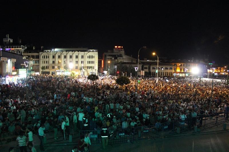 Kadir Gecesi Konya'da bir başka güzel 8