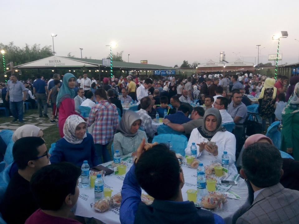 AK Parti Konya İl Teşkilatı'nın düzenlediği iftar yemeği 1