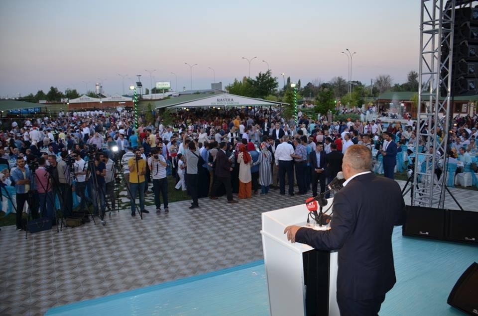 AK Parti Konya İl Teşkilatı'nın düzenlediği iftar yemeği 10