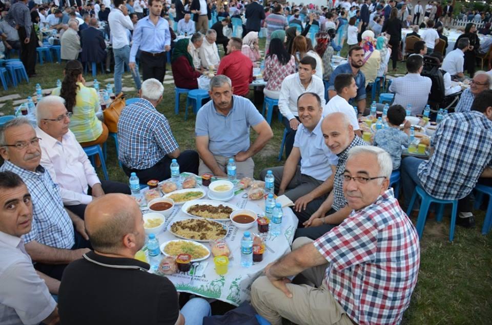 AK Parti Konya İl Teşkilatı'nın düzenlediği iftar yemeği 12