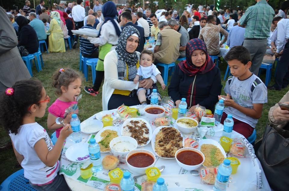 AK Parti Konya İl Teşkilatı'nın düzenlediği iftar yemeği 14