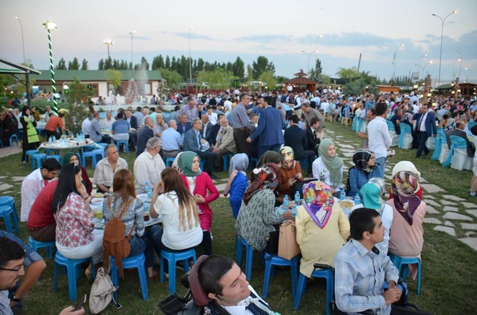 AK Parti Konya İl Teşkilatı'nın düzenlediği iftar yemeği 15