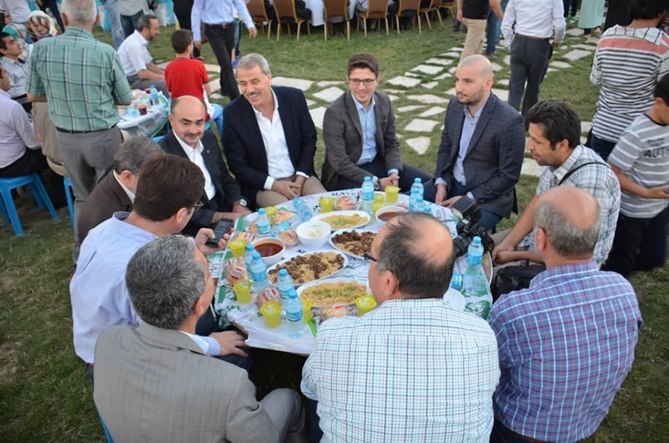 AK Parti Konya İl Teşkilatı'nın düzenlediği iftar yemeği 16