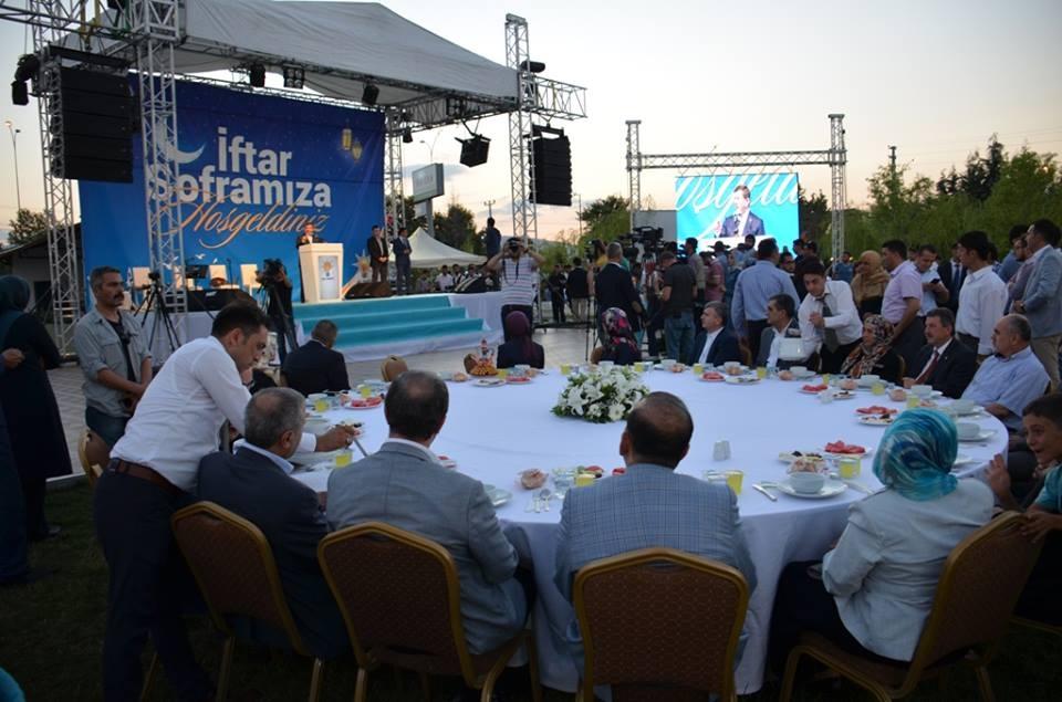 AK Parti Konya İl Teşkilatı'nın düzenlediği iftar yemeği 19