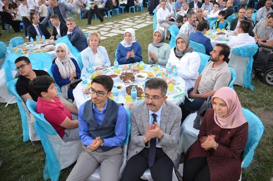 AK Parti Konya İl Teşkilatı'nın düzenlediği iftar yemeği 22
