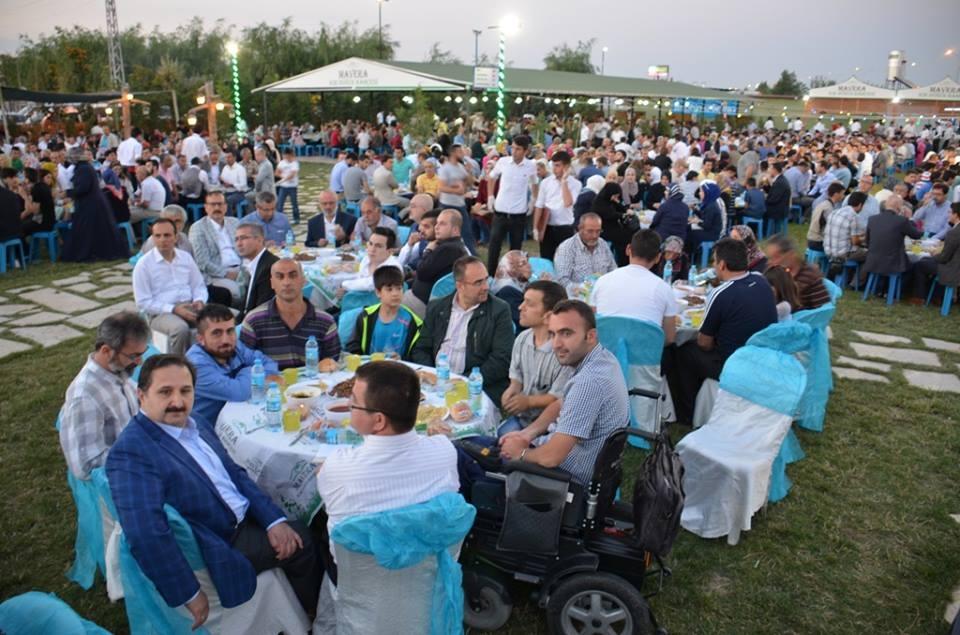 AK Parti Konya İl Teşkilatı'nın düzenlediği iftar yemeği 23