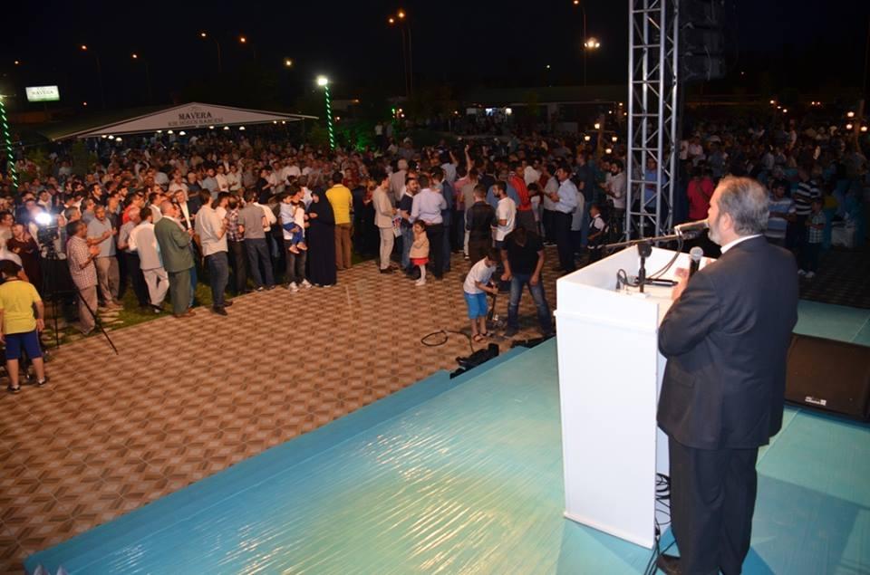 AK Parti Konya İl Teşkilatı'nın düzenlediği iftar yemeği 27
