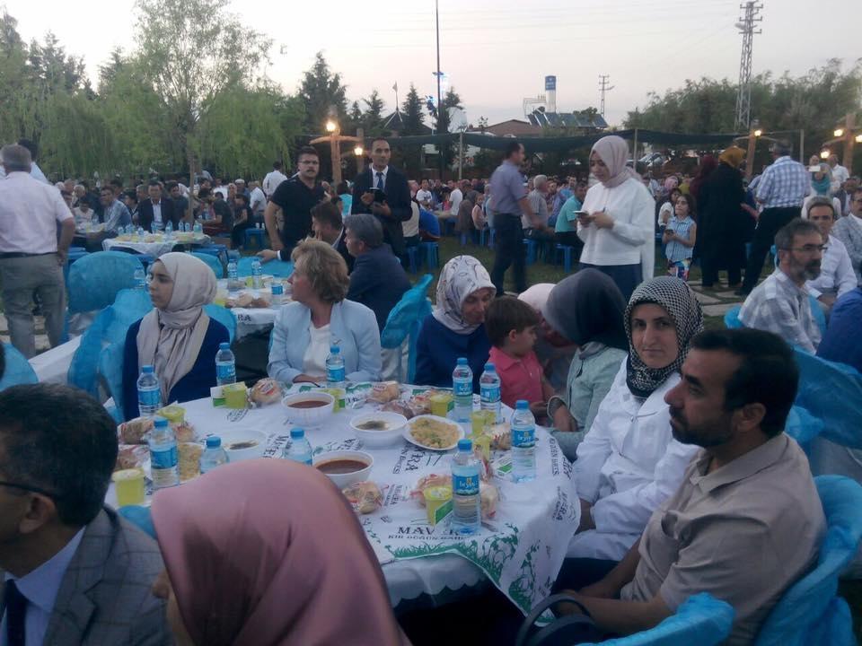 AK Parti Konya İl Teşkilatı'nın düzenlediği iftar yemeği 4