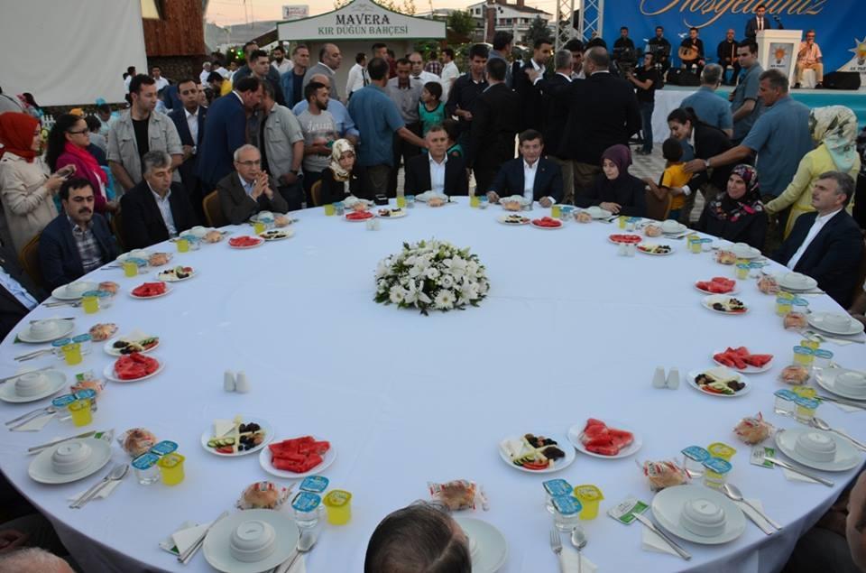 AK Parti Konya İl Teşkilatı'nın düzenlediği iftar yemeği 41