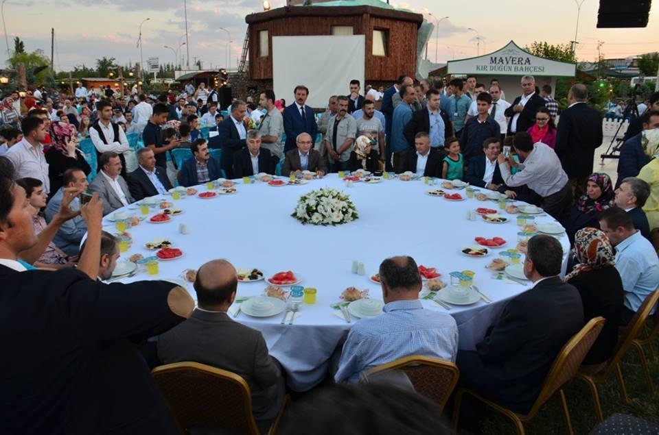 AK Parti Konya İl Teşkilatı'nın düzenlediği iftar yemeği 42