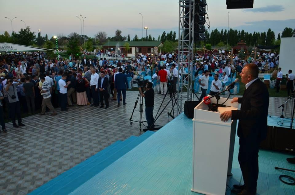 AK Parti Konya İl Teşkilatı'nın düzenlediği iftar yemeği 43