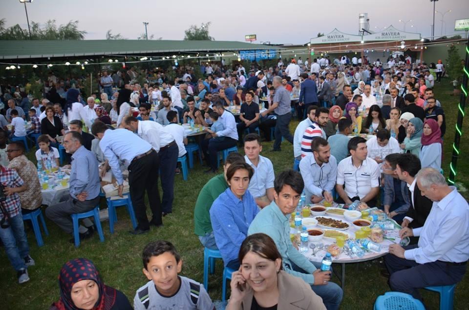 AK Parti Konya İl Teşkilatı'nın düzenlediği iftar yemeği 8