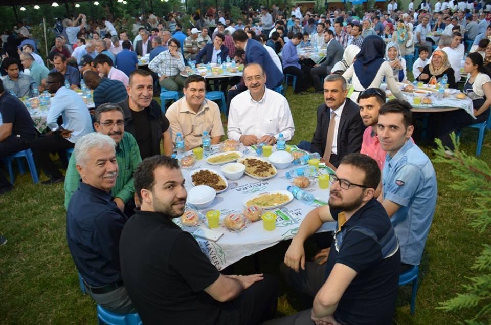 AK Parti Konya İl Teşkilatı'nın düzenlediği iftar yemeği 9