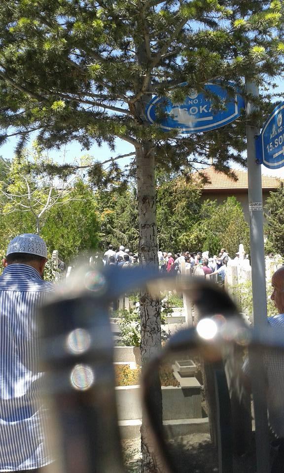 Ahmet Saim Arıtan'a son görev 10