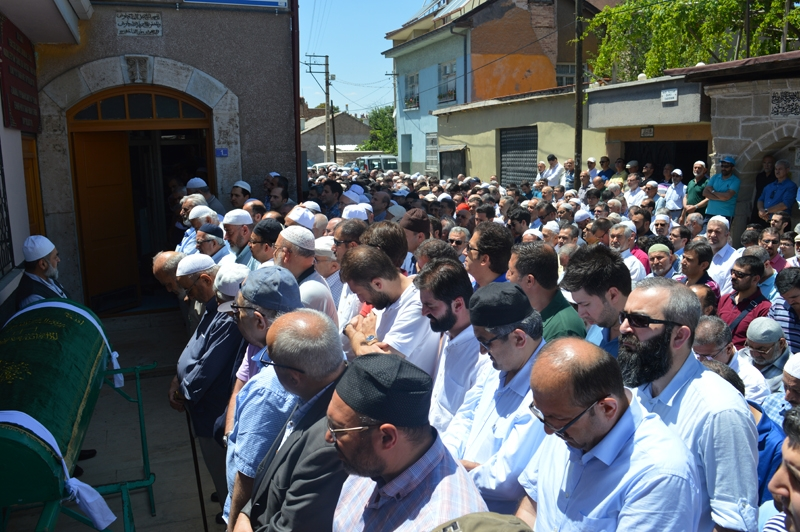 Ahmet Saim Arıtan'a son görev 6