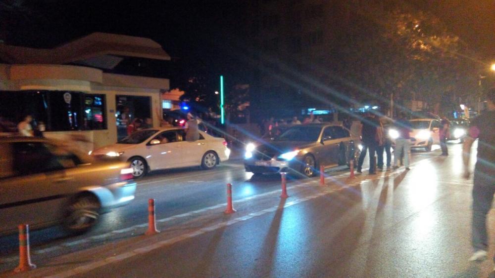 Konya'da halk tepki için sokağa döküldü 1