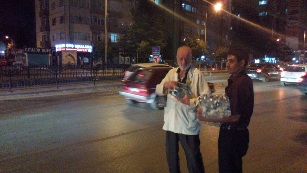 Konya'da halk tepki için sokağa döküldü 11
