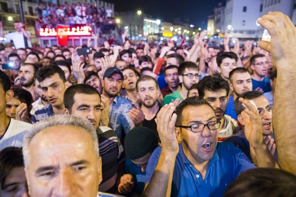 Konya'da halk tepki için sokağa döküldü 19