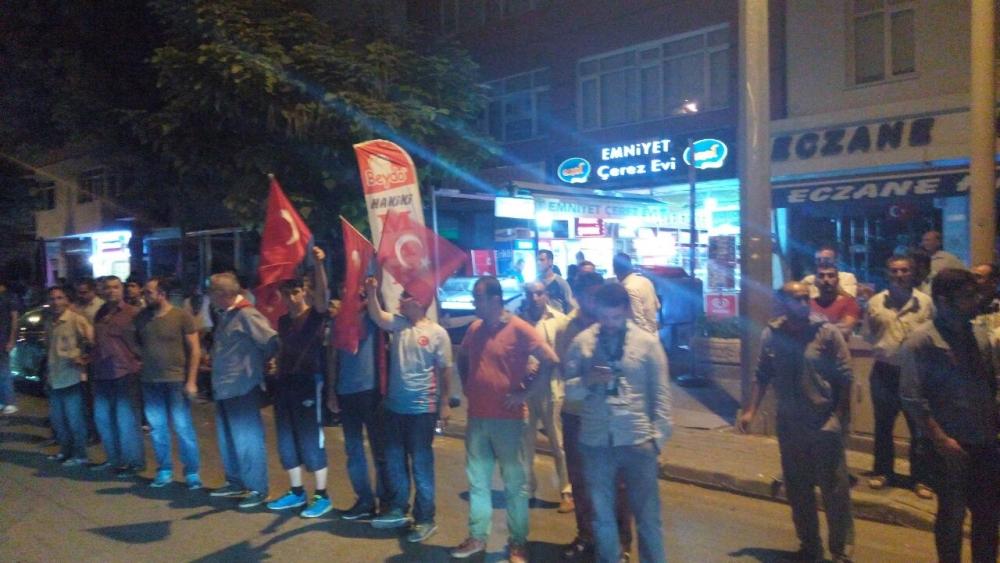 Konya'da halk tepki için sokağa döküldü 2