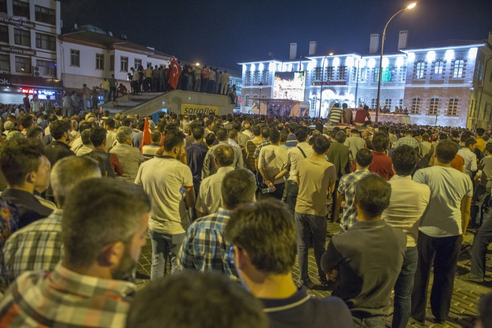 Konya'da halk tepki için sokağa döküldü 20
