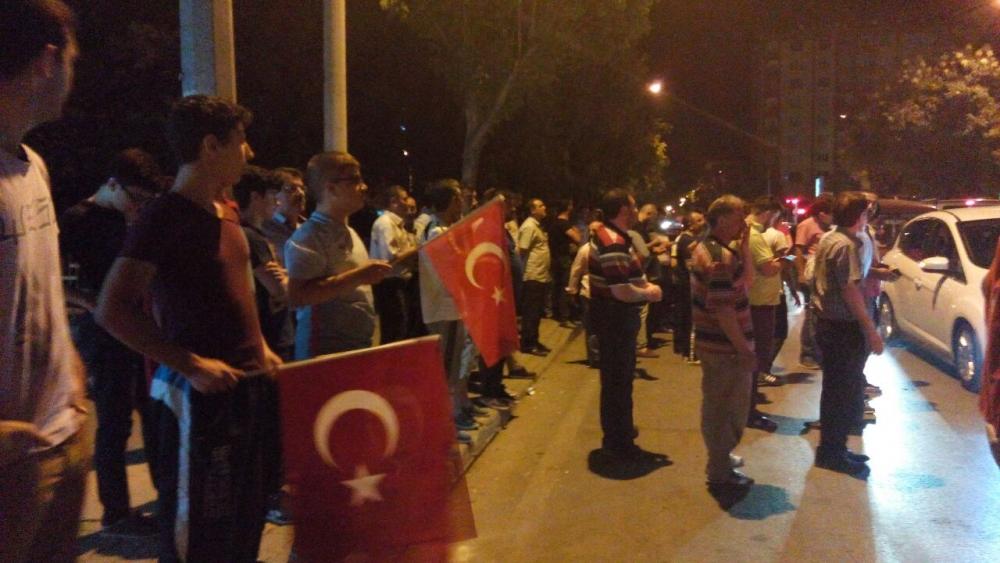 Konya'da halk tepki için sokağa döküldü 4