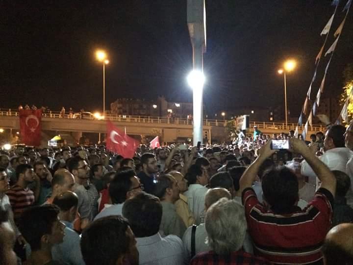 Konya'da halk tepki için sokağa döküldü 5