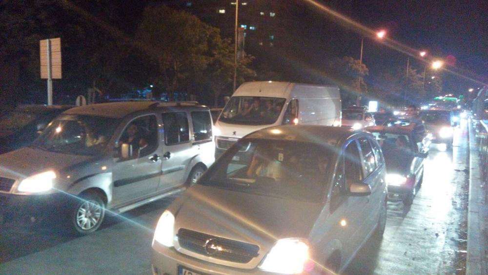 Konya'da halk tepki için sokağa döküldü 6