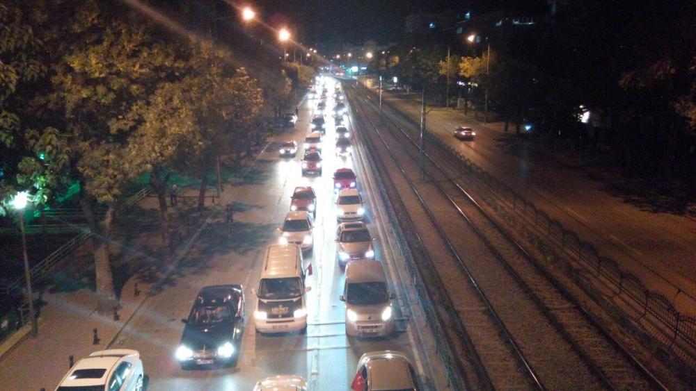 Konya'da halk tepki için sokağa döküldü 9
