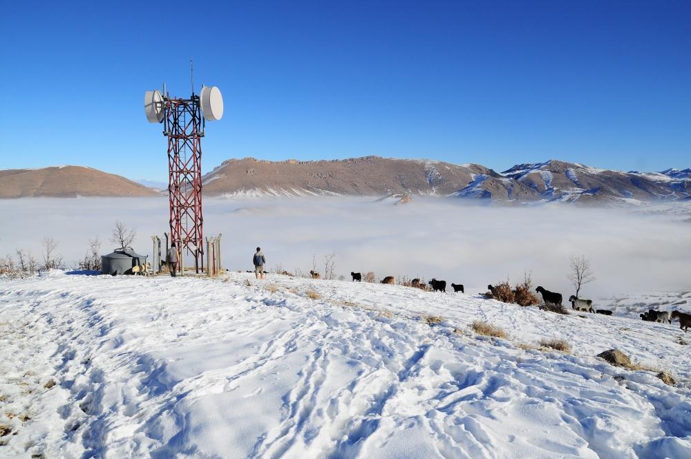 Konya 'da sis 1